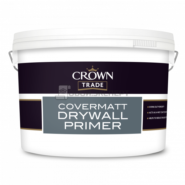 Грунтовка CROWN DRYWALL PRIMER WHITE 10L   5074888