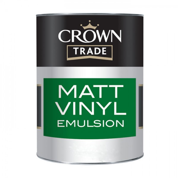 Краска CROWN TRADE MATT VINYL EMULSION BASE OPAL MID 2.5L  5091043